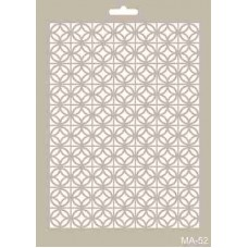 Cadence Mix Media Stencil Collection A4 Template CADMA52