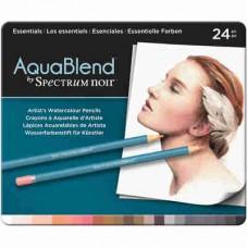 Spectrum Noir AquaBlend Pencils 24/Pkg Essentials ABESS24
