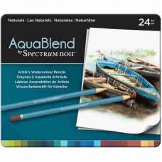 Spectrum Noir AquaBlend Pencils 24/Pkg Naturals ABNAT24