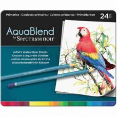Spectrum Noir AquaBlend Pencils 24/Pkg Primaries ABPRI24