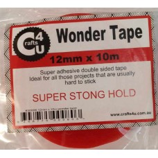 Crafts4U 12mm x 10m Wonder Tape 30006