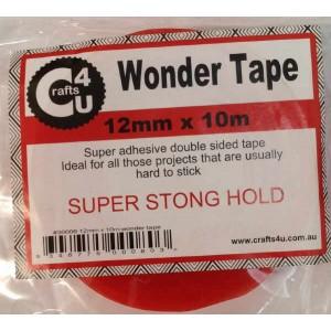 Crafts4U 12mm x 10m Wonder Tape 30006