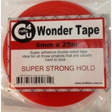 Crafts4U 6mm x 25m Wonder Tape 30007