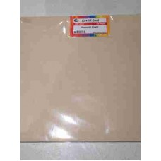 Crafts4U 12 x 12in Card Smooth Oatmeal Kraft 60051a
