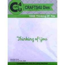 Crafts4U Die Thinking of You 10068