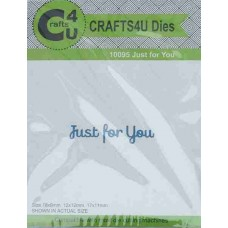 Crafts4U Die Just for You 10095