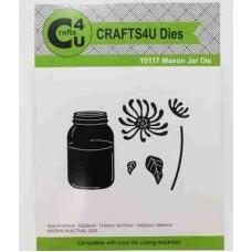 Crafts4U Die Mason Jar 10117