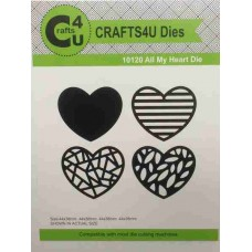 Crafts4U Die All My Heart 10120
