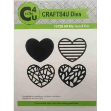 Crafts4U Die All My Heart 10120