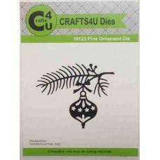Crafts4U Die Pine Ornament 10123