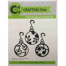 Crafts4U Die Dangling Ornaments 10124