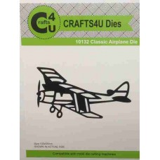 Crafts4U Die Classic Airplane 10132