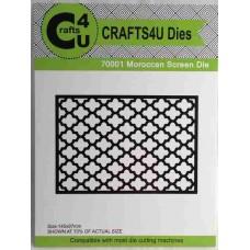 Crafts4U Die Moroccan Screen 70001