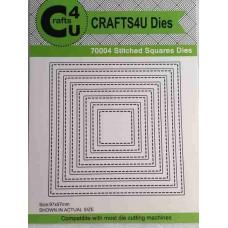 Crafts4U Die Stitched Squares (8 dies) 70004