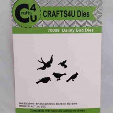 Crafts4U Die Dainty Birds (5 dies) 70008