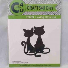 Crafts4U Die Loving Cats 70009