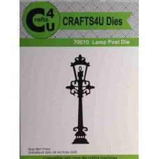 Crafts4U Die Lamp Post 70010