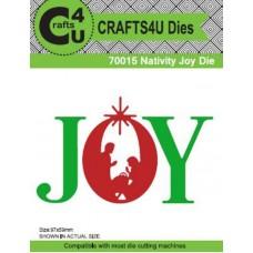 Crafts4U Die Nativity Joy 70015