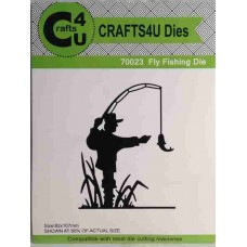 Crafts4U Die Fly Fishing 70023