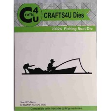 Crafts4U Die Fishing Boat 70024