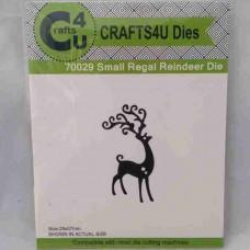 Crafts4U Die Small Regal Reindeer 70029