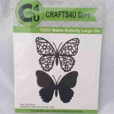 Crafts4U Die Mable Butterfly Large (2 dies) 70033