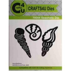 Crafts4U Die Seashells (3 dies) 70044
