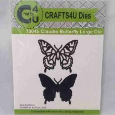 Crafts4U Die Claudie Butterfly Large 70045