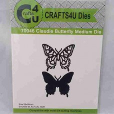 Crafts4U Die Claudie Butterfly Medium 70046