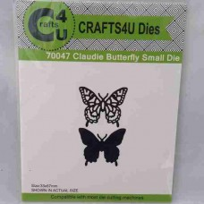 Crafts4U Die Claudie Butterfly Small 70047