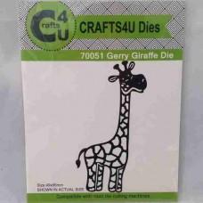 Crafts4U Die Gerry Giraffe 70051