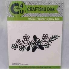Crafts4U Die Flower Spray 70053