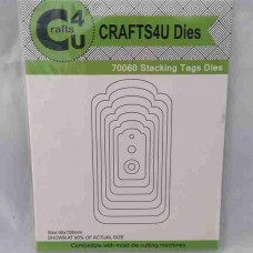Crafts4U Die Stacking Tags (11 dies) 70060
