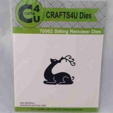 Crafts4U Die Sitting Reindeer 70062