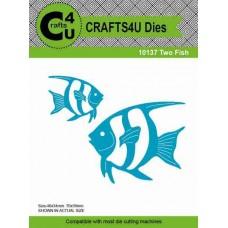 Crafts4U Die Two Fish (2 dies) 10137