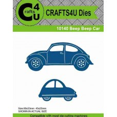 Crafts4U Die Beep Beep Cars (2 dies) 10140