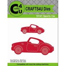 Crafts4U Die Sports Cars (2 dies) 10141