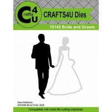 Crafts4U Die Bride and Groom 10143
