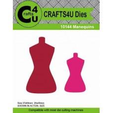 Crafts4U Die Manequins (2 dies) 10144