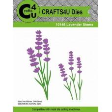 Crafts4U Die Lavender Stems (2 dies) 10146