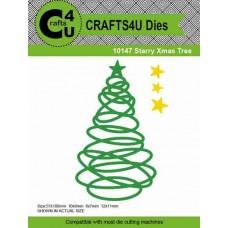 Crafts4U Die Starry Xmas Tree (4 dies) 10147