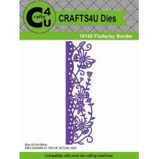 Crafts4U Die Flutterby Border 10148