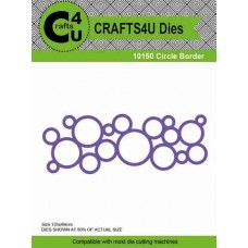 Crafts4U Die Circle Border 10150