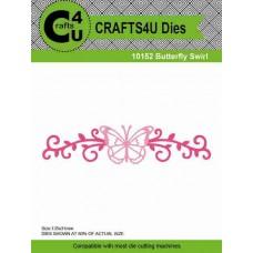 Crafts4U Die Butterfly Swirl 10152