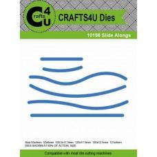 Crafts4U Die Slide Alongs  (6 dies) 10156
