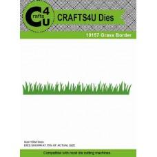 Crafts4U Die Grass Border 10157