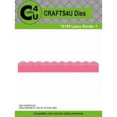 Crafts4U Die Lacey Border 1 10158