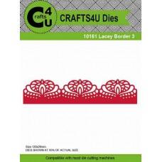 Crafts4U Die Lacey Border 3 10161