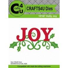 Crafts4U Die Holly Joy 10167
