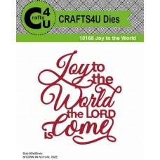 Crafts4U Die Joy to the World 10168